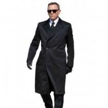 James Bond Spectre Navy Blue Great coat -navy  blue over coat