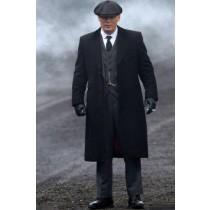 1920s Style Peaky Blinders Suits + Jacket + Vest Pants + Overcoat + Hat Custom