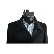 Wool coat with zipper - Peacoat with zipper