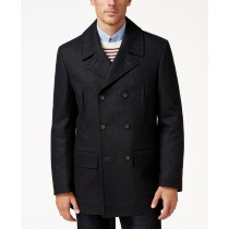 Ralph Lauren Luke Wool-Blend Classic-Fit Charcoal Overcoat