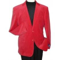 Red Velvet Alberto Nardoni Brand Blazer Jacket