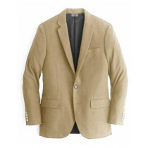 Alberto Nardoni Beige Single Breasted Cashmere Wool