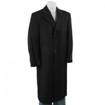 Single breasted black fashion/business overcoat in 3 Colors