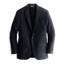 Alberto Nardoni Black One Chest Pocket Cashmere Wool Blazer