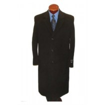 Stylish single breasted business overcoat in 3 Colors