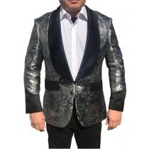 Alberto Nardoni Shawl Collar Sharkskin Party