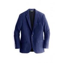 Alberto Nardoni Navy Flap Front Pocket Cashmere Wool