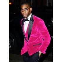 Alberto Nardoni Hot Pink Velvet