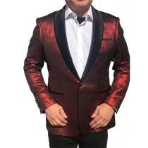 Alberto Nardoni Dark Red Dinner Jacket