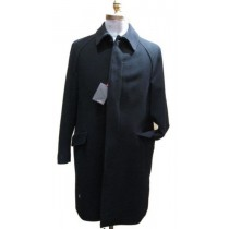 Single breasted 3 buttons center-vent 38 inch  length Overcoat