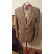 Tweed Sportcoats - Tweed Blazer Lined Brown