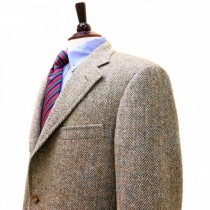 Tweed  Lined Brown Sportcoats - Tweed Blazer