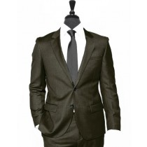 Alberto Nardoni Chocolate Vested Fabric Linen Wedding Suit