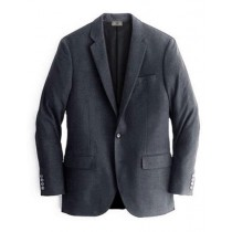 Alberto Nardoni Charcoal Notch Lapel Cashmere Wool