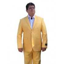 Alberto Nardoni Gold ~ Yellow Two Button Vested Suit