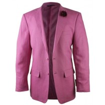 Alberto Nardoni Pink Linen Fashionable  for men