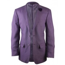 Alberto Nardoni Purple Linen Fashionable  for men