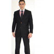 MEN'S TWO BUTTON BLACK SPORT JACKET BLAZERS SALE