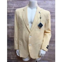Mens Yellow ~ Canary Two buttons blazer Sport coat