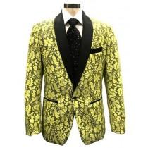 Yellow  Dinner Jacket
