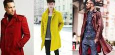 mens trenchcoat by color