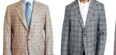 sport coats by pattern